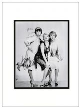 Tony Curtis Billy Wilder Signed Photo - Some Like It Hot